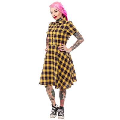 Sourpuss Plaid-Mekko